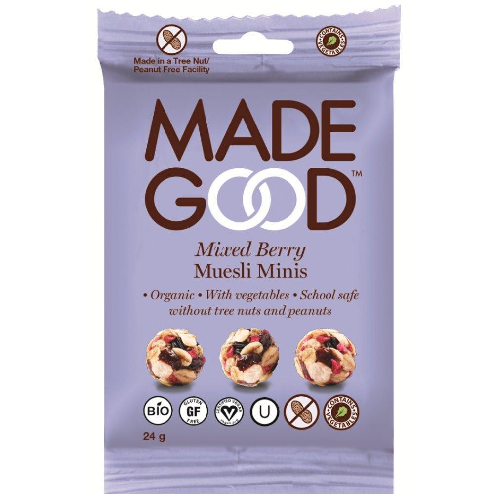 Made Good Mixed Berry Muesli Minis 24g
