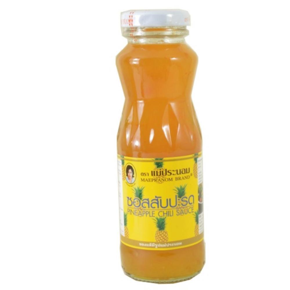 Maepranom Brand Pineapple Chilli Sauce 220g