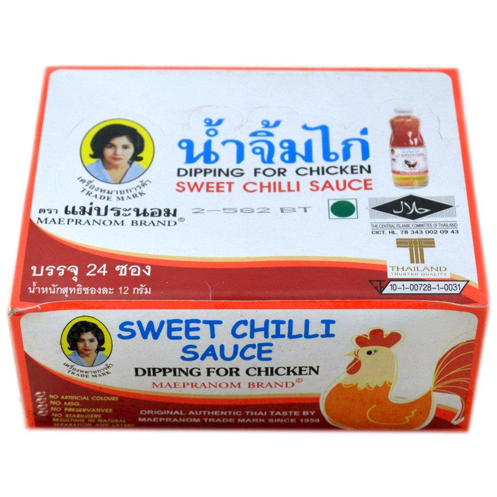 Maepranom Brand Sweet Chilli Sauce 12g x 24 12g x 24