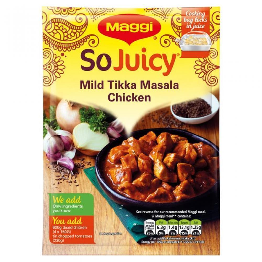 TODAY ONLY  Maggi So Juicy Tikka Masala 46g