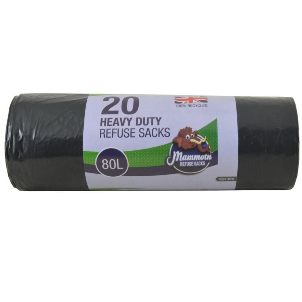 Mammoth 20 Heavy Duty Refuse Sacks