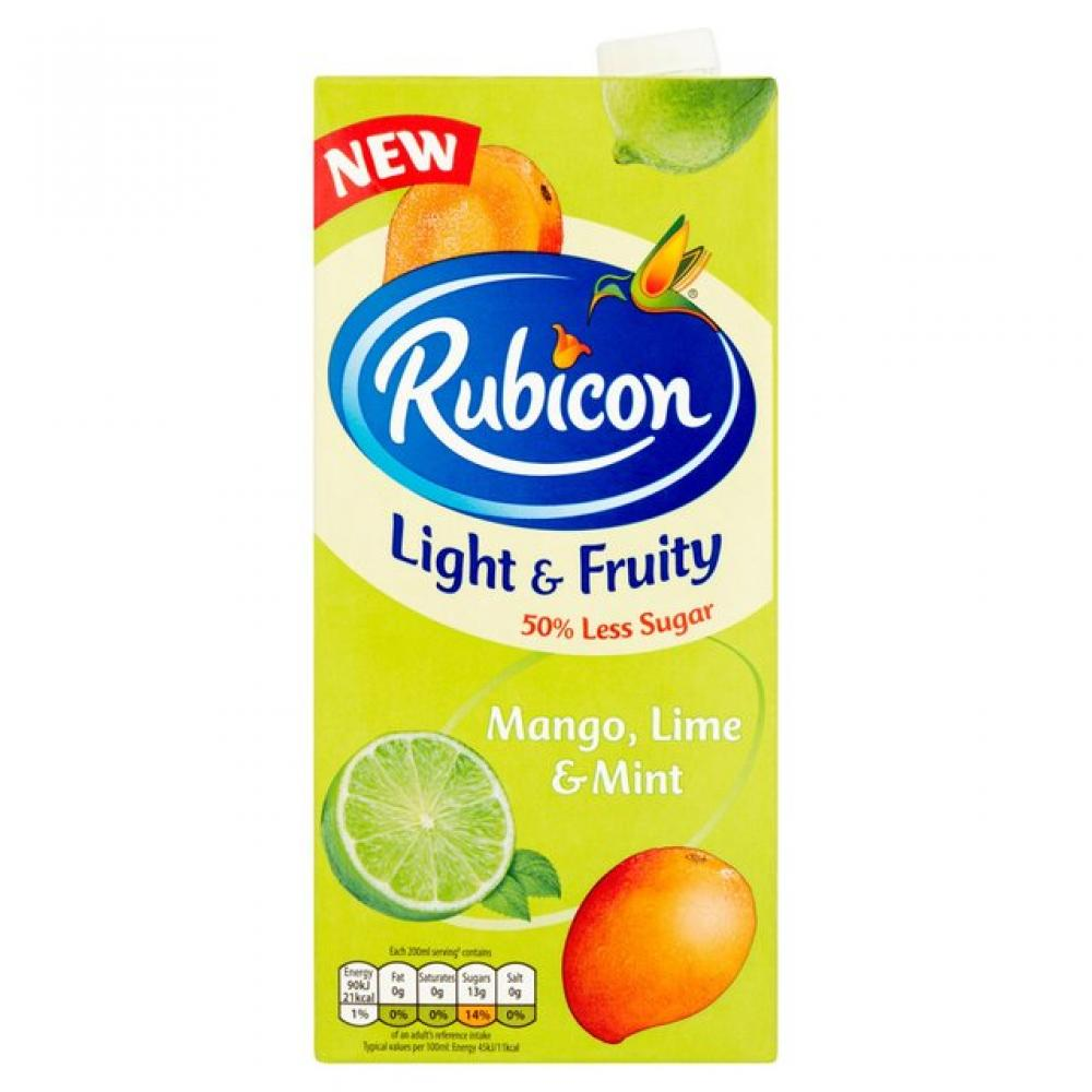 Rubicon Mango Lime and Mint 1 Litre