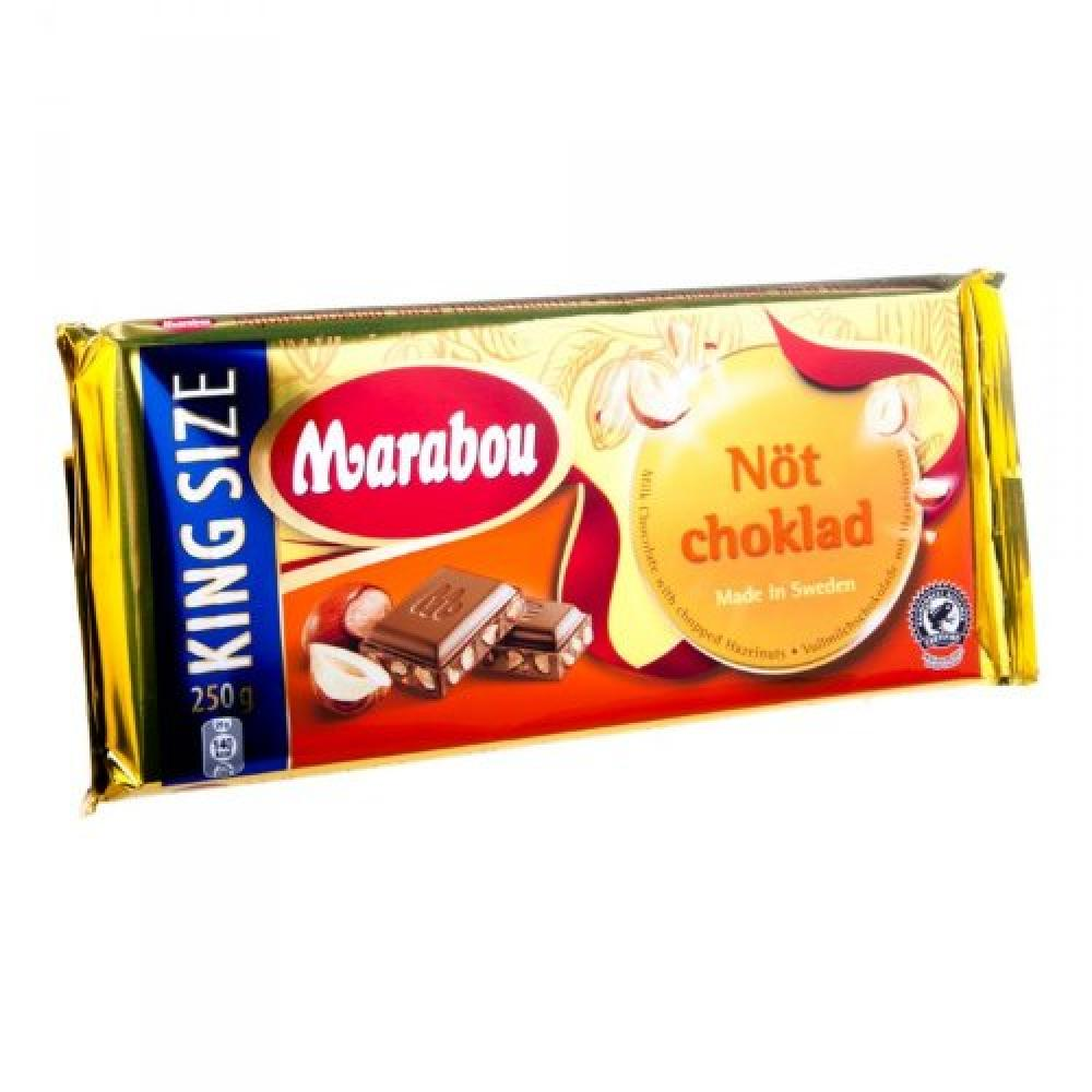 Marabou Not Choklad Vollmilch Nuss 250g