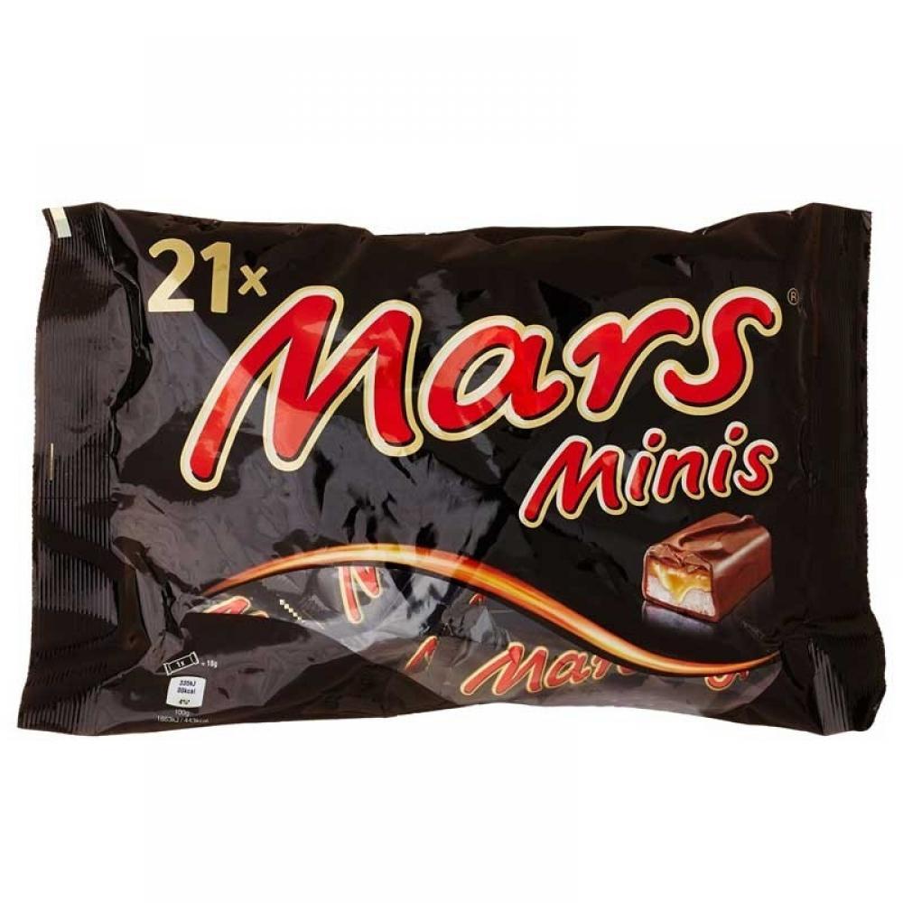 Mars Minis 403g pack of 21