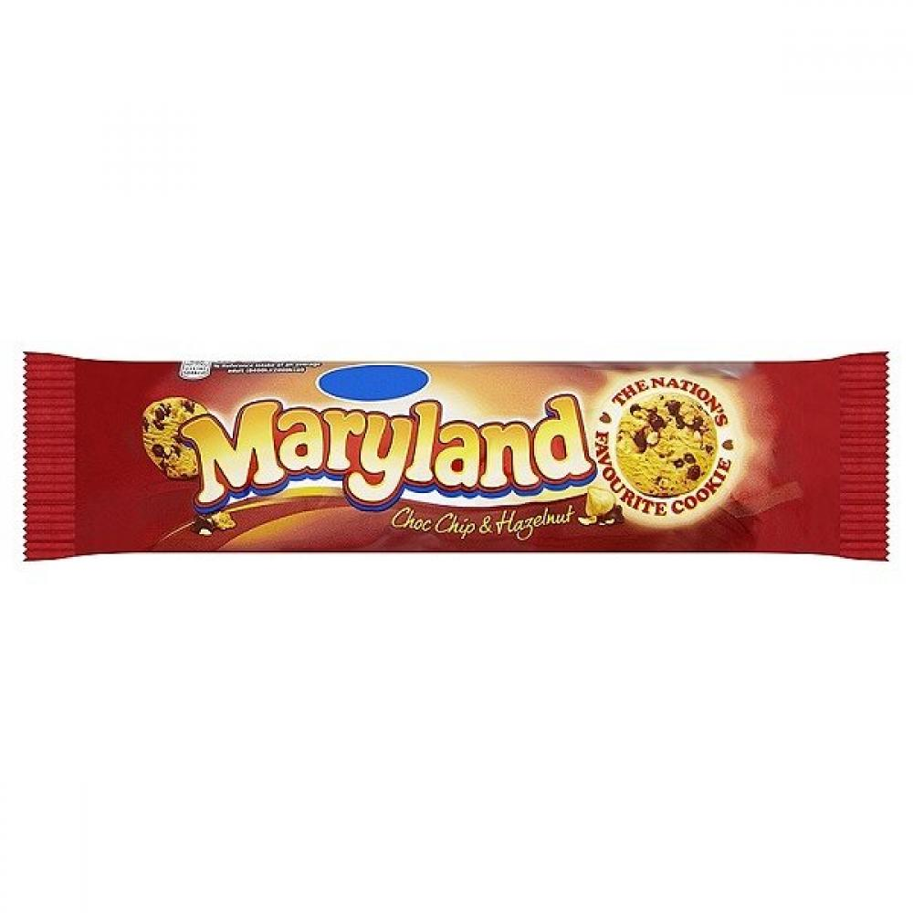 Maryland Choc Chip and Hazelnut Cookies 145g
