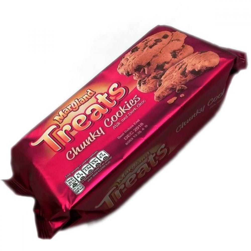 Maryland Treats Chunky Milk and Dark Chocolate Cookies 144g