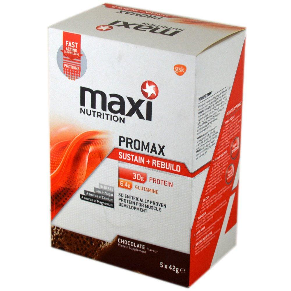 Maxi Nutrition Promax Milk Sustain And Rebuild Chocolate Milkshake 42g x 5