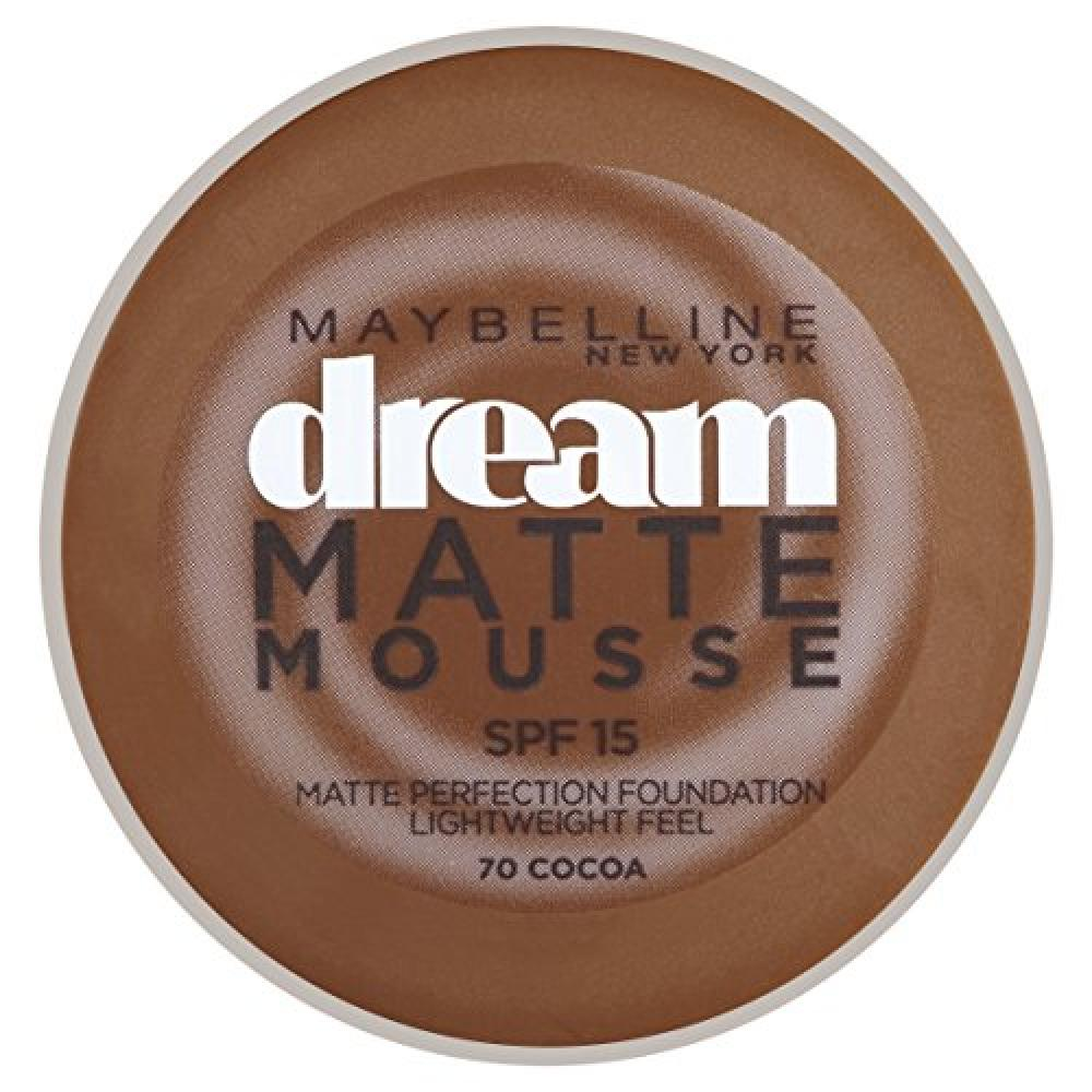 Maybelline Dream Matte Mousse Foundation - 070 Cocoa 18 ml