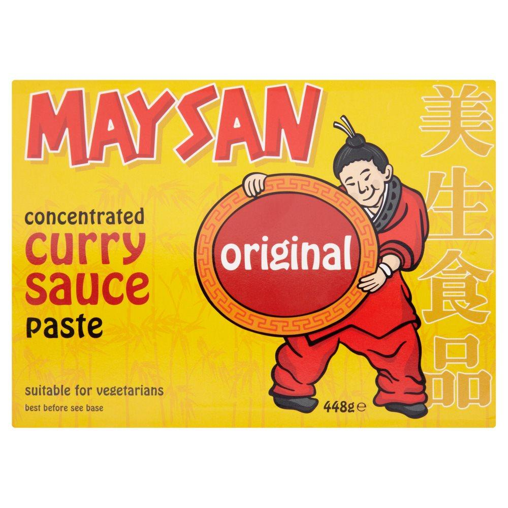 Maysan Concentrated Curry Sauce Paste Original 448g