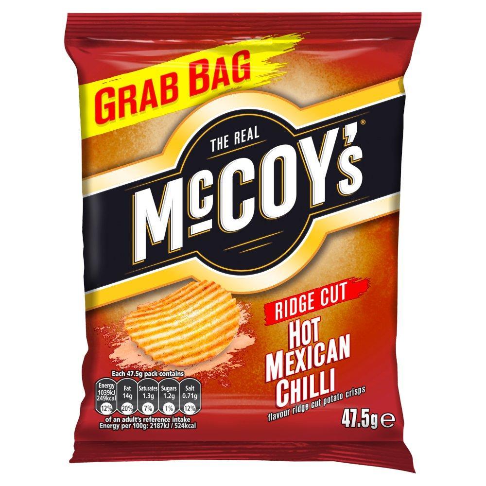 Mccoys Ridge Cut Mexican Chilli Grab Bag 47.5g