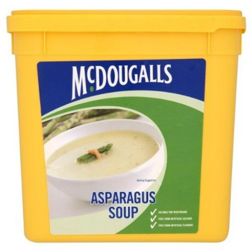 FURTHER REDUCTION  Mcdougalls Asparagus Soup 225kg