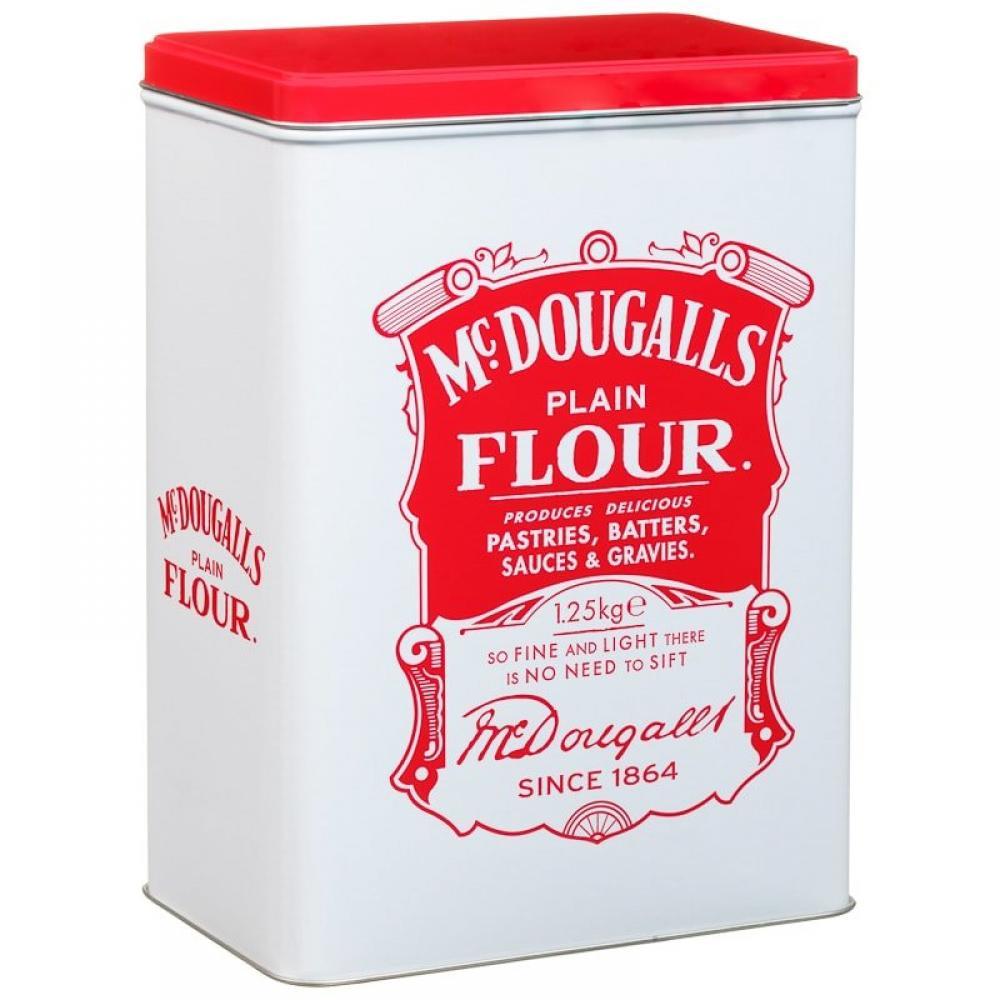 Mcdougalls Plain Flour Tin 1.25kg