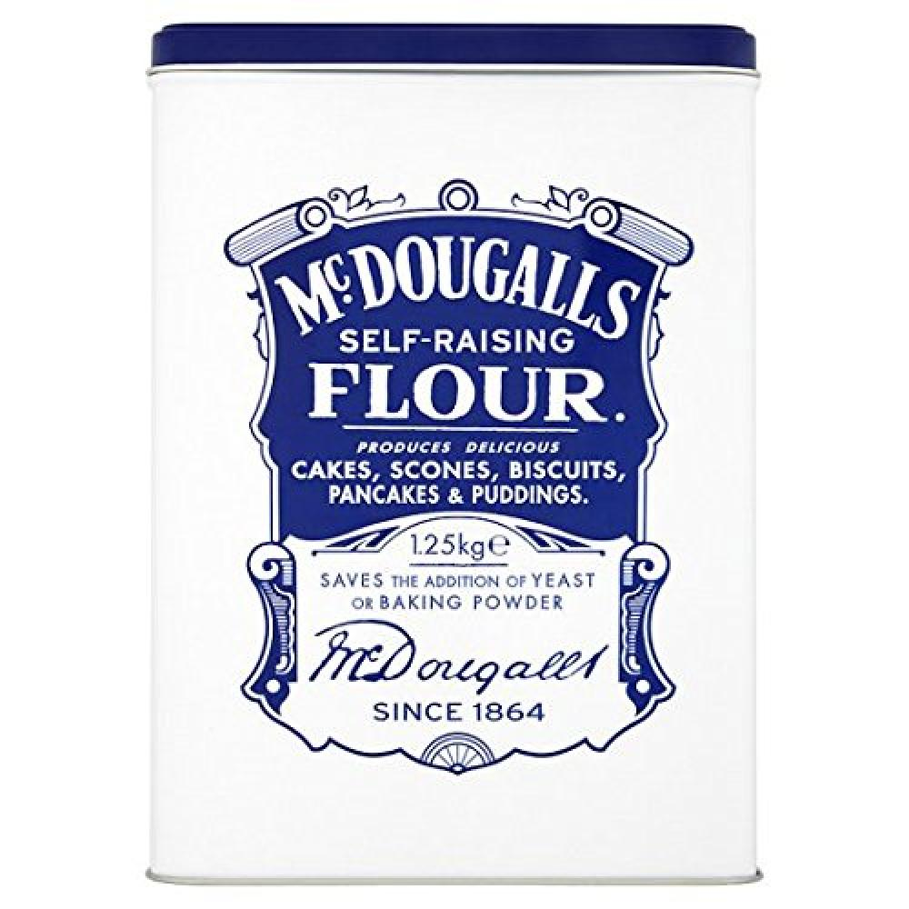 Mcdougalls Self Raising Flour Tin 1.25kg