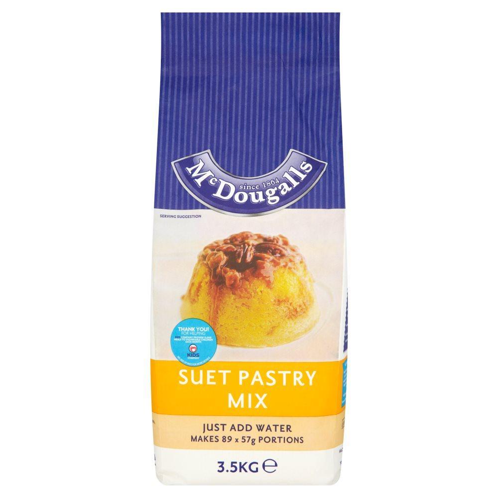Mcdougalls Suet Pastry Mix 3.5kg