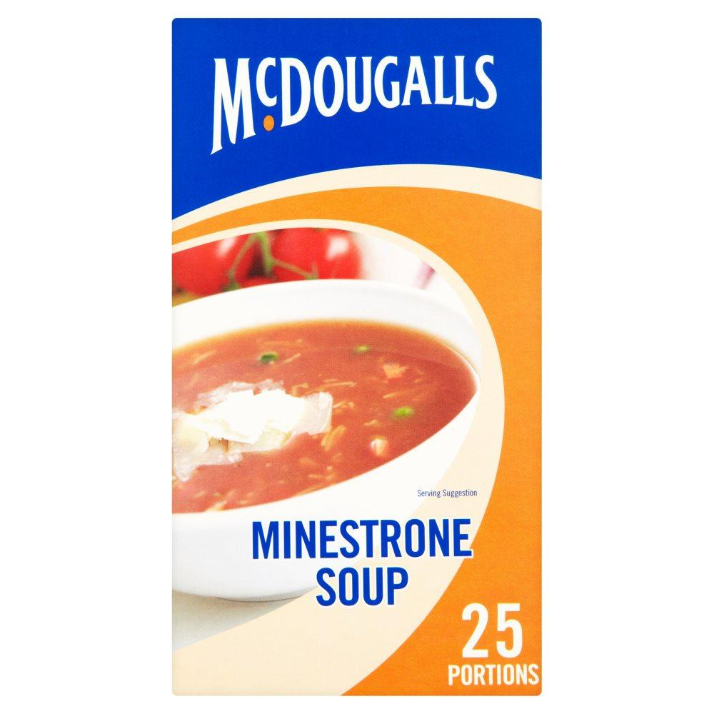 Mcdougals Minestrone Soup 348g