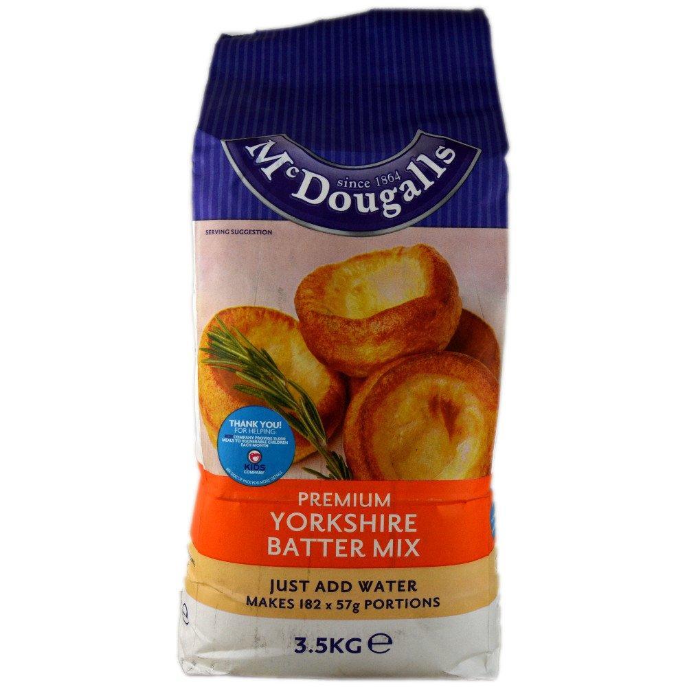 Mcdougals Premium Yorkshire Batter Mix 3.5kg