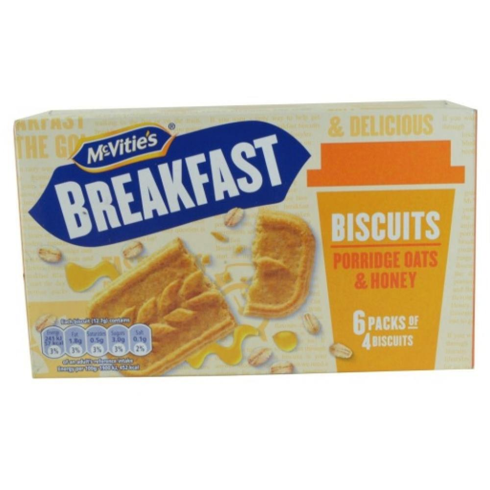 McVities Breakfast Biscuits With Oats and Honey 300g