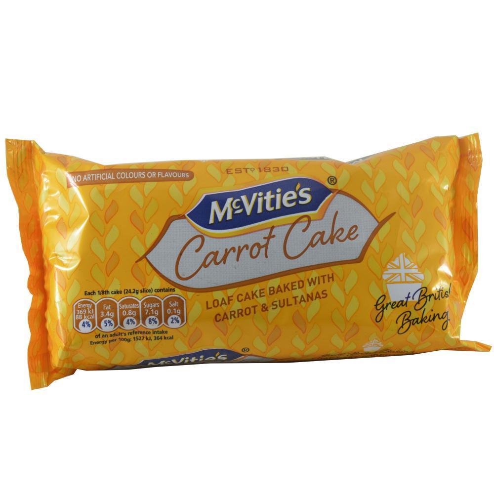 McVities McVities Carrot Cake 193.6g 193.6g 193.6g