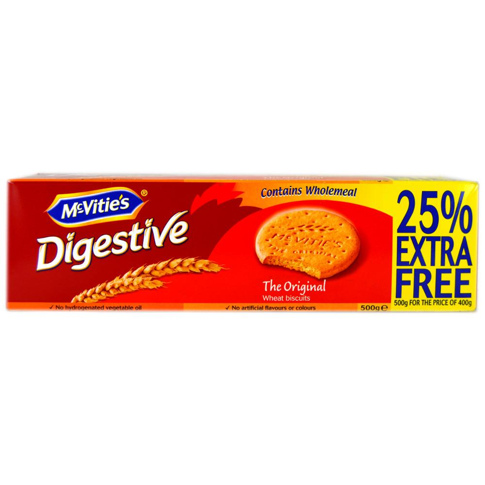 McVities  McVities Digestives Original 500g  500g