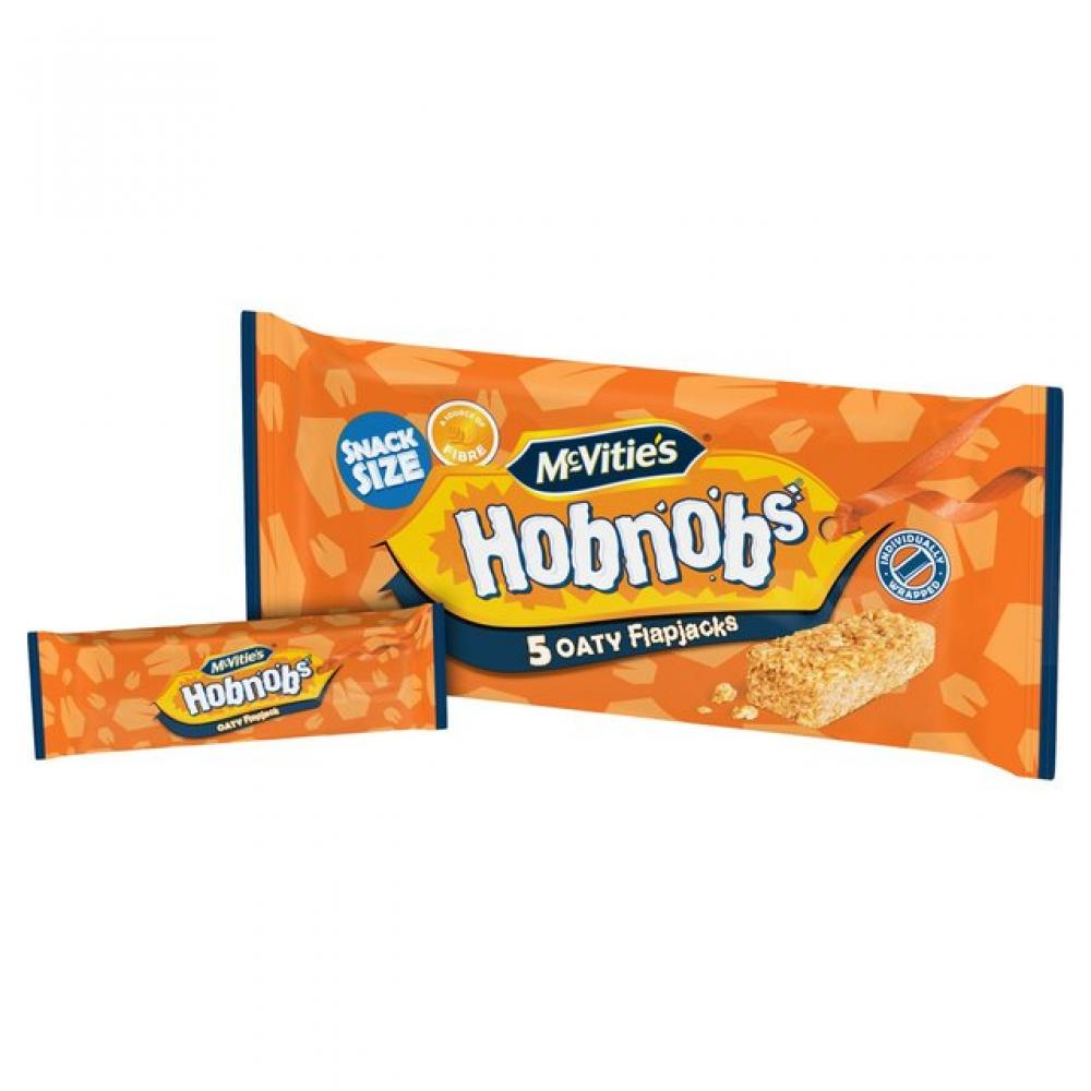 McVities Hobnobs 5 Oaty Flapjacks