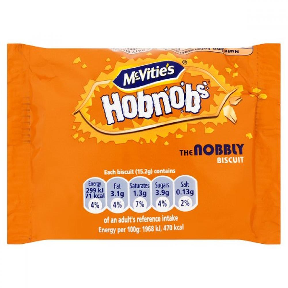 TODAY ONLY  McVities Hobnobs Oat Biscuits 30g