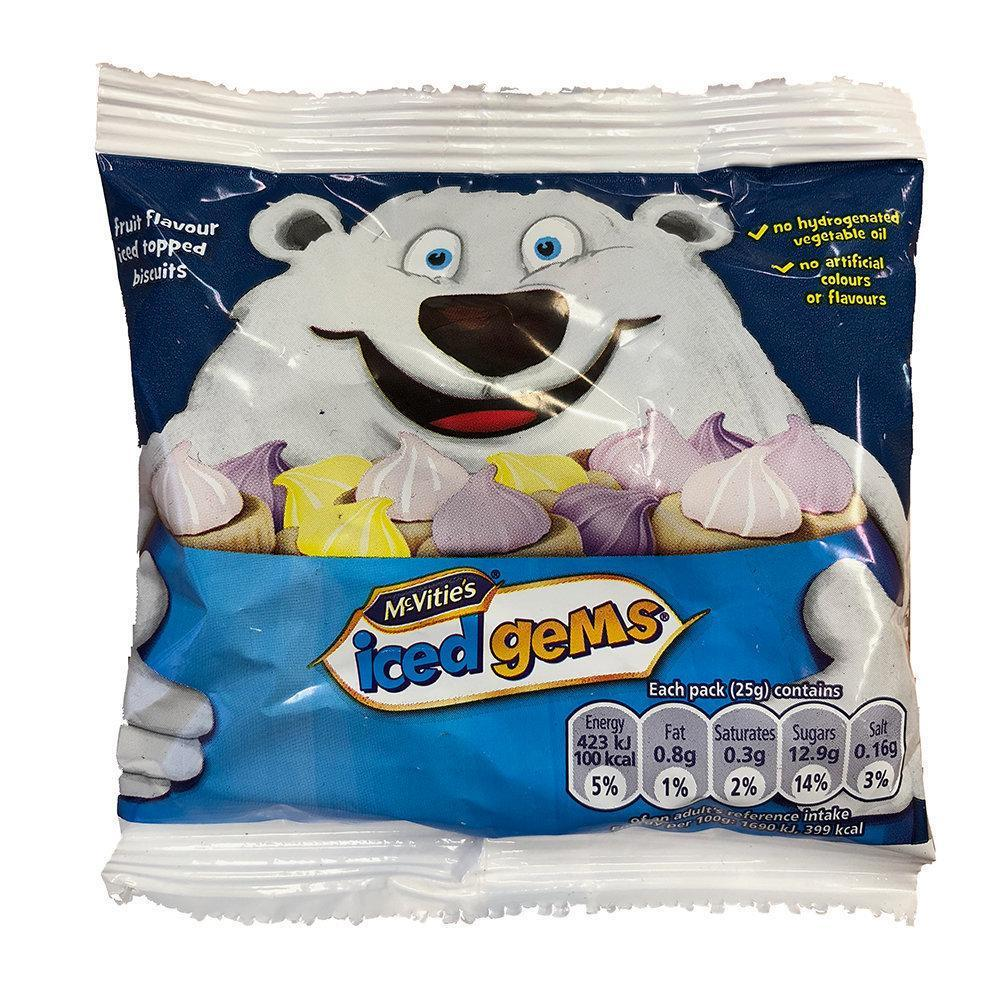 McVities Iced Gems 25g