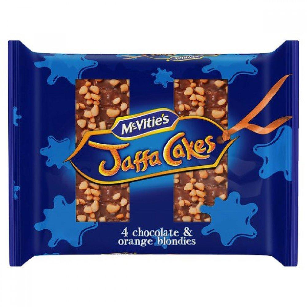 McVities Jaffa Cakes 4 Chocolate Orange Blondies 158g