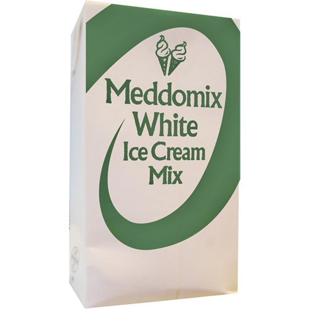 Meddomix White Ice Cream Mix 1l