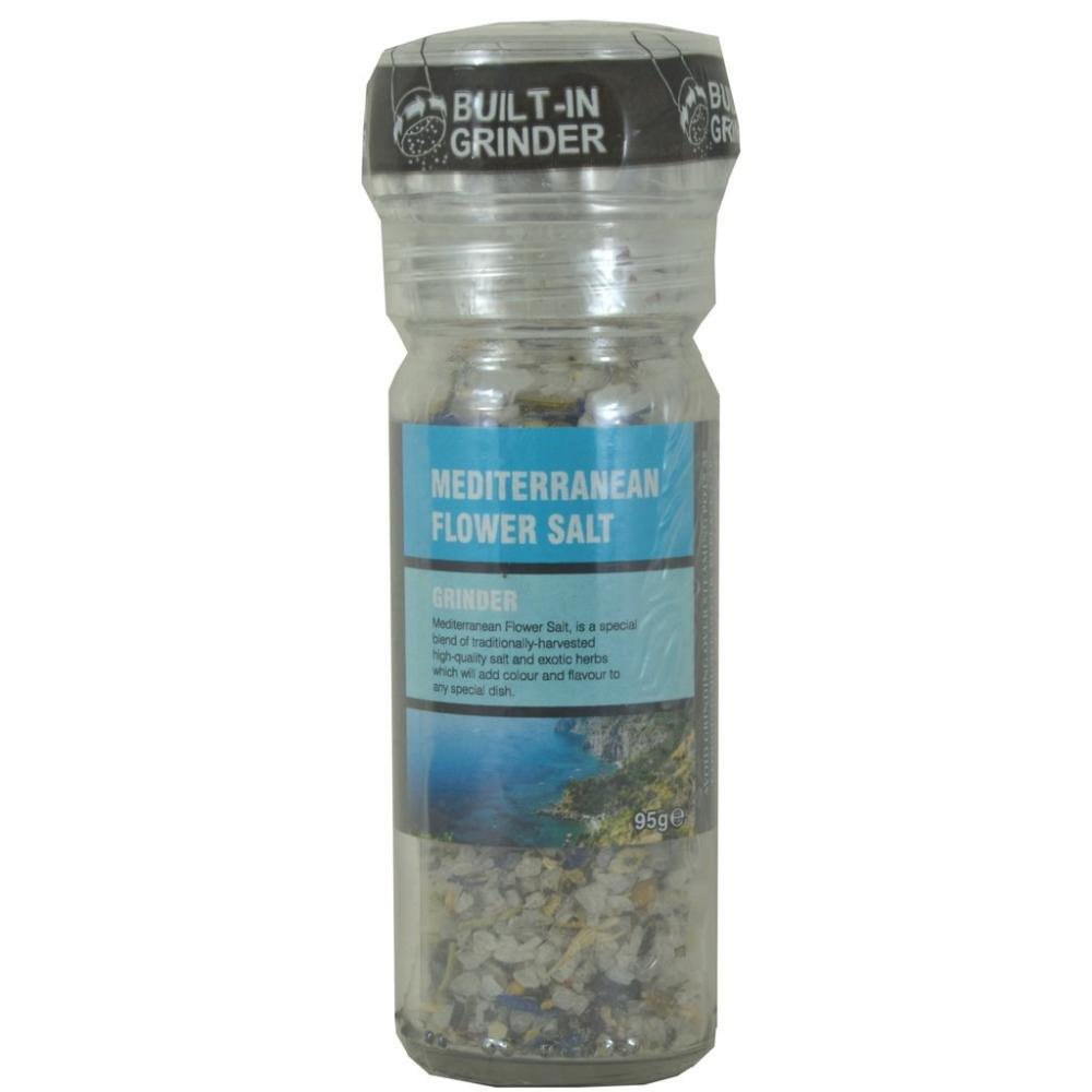 The Spice Maker Mediterranean Flower Salt Grinder 95g