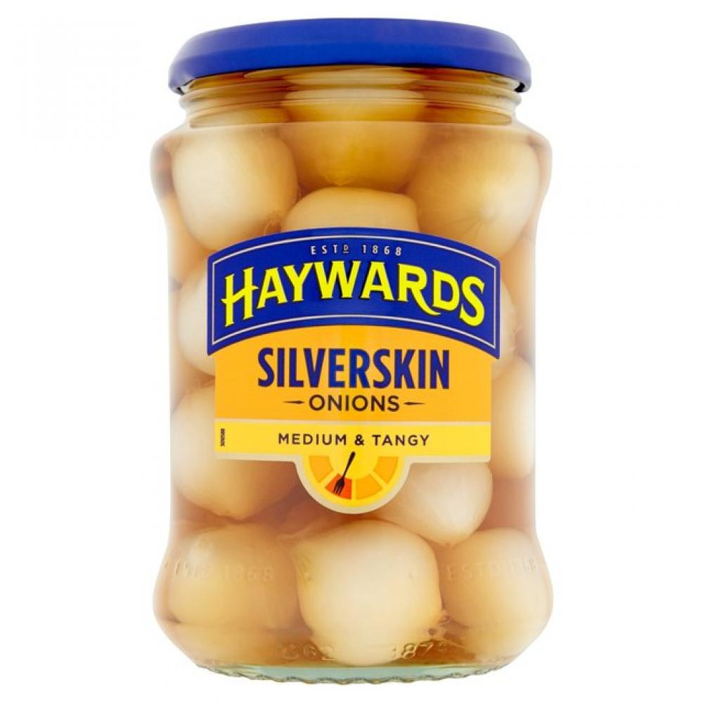 Haywards Medium and Tangy Silverskin Onions 400g