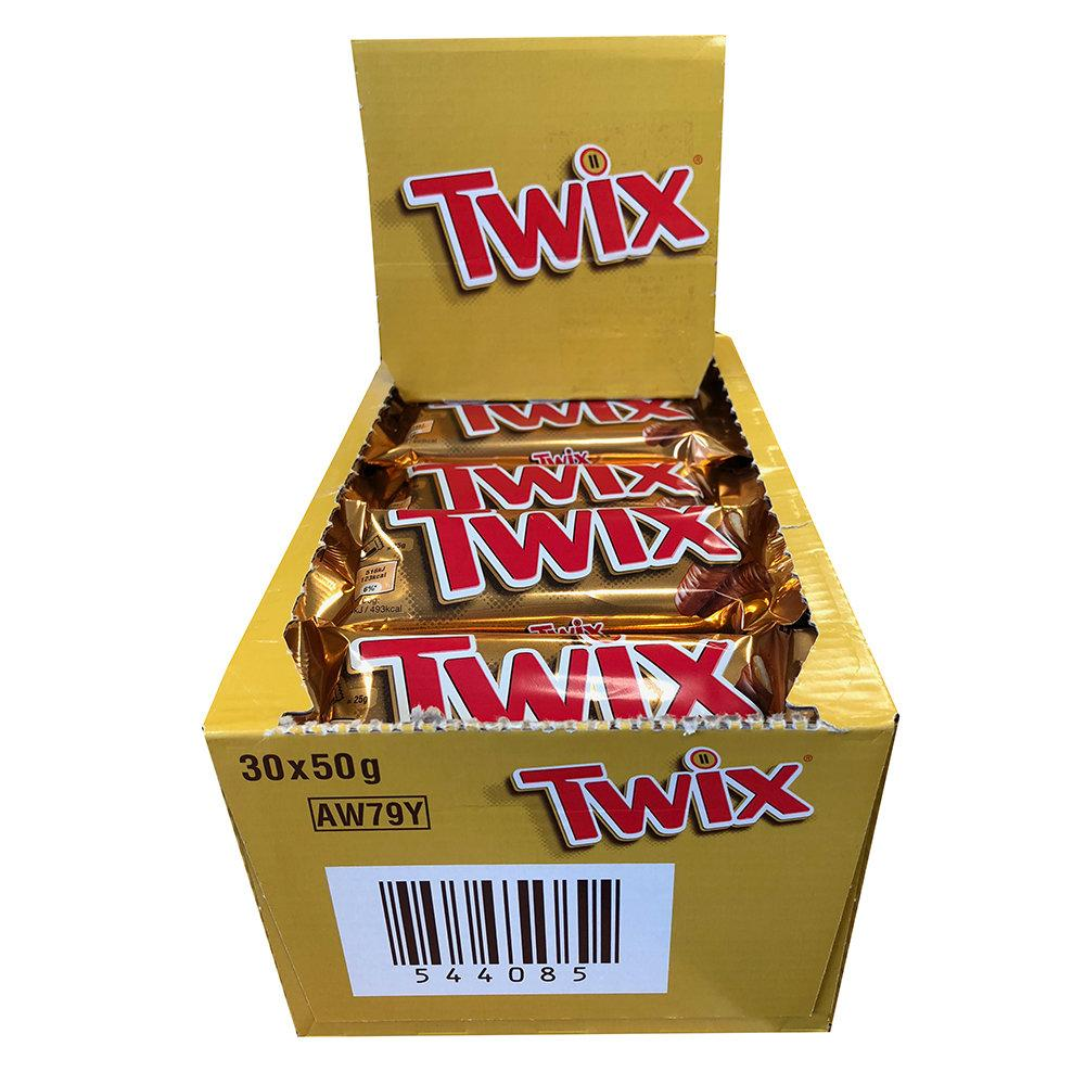 CASE PRICE  Twix 30 x 50g