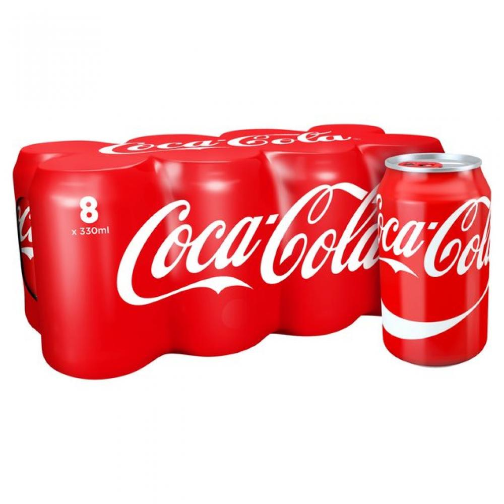 Coca Cola 8 x 330ml