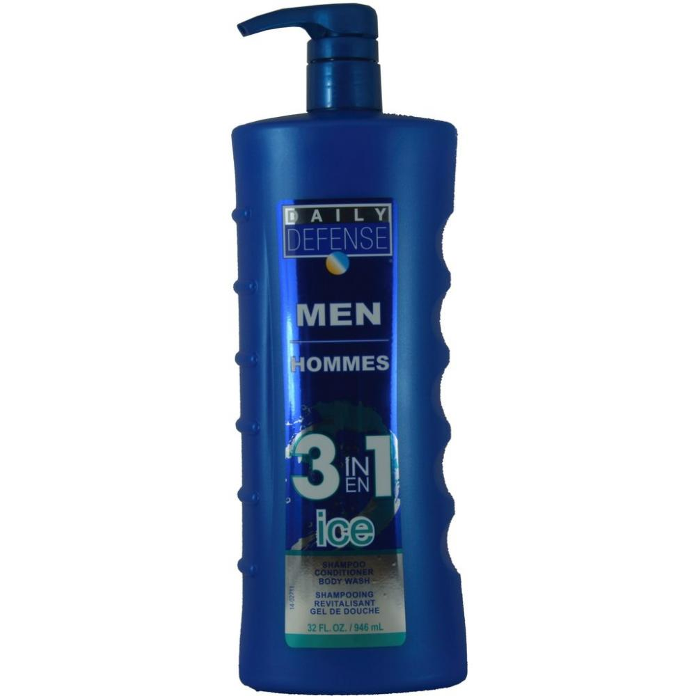 Daily Defense Mens 3 in 1 Ice 946ml
