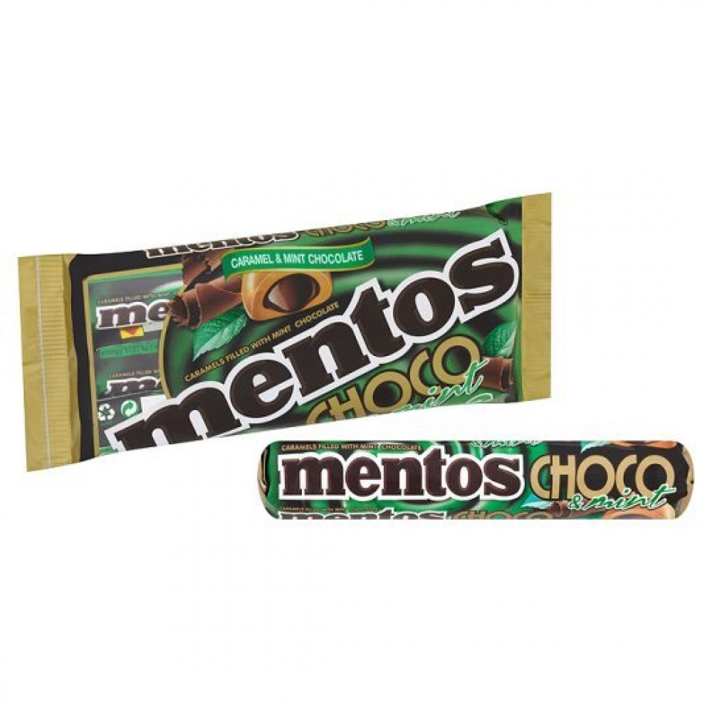 Mentos Choc and Mint 3 x 38g