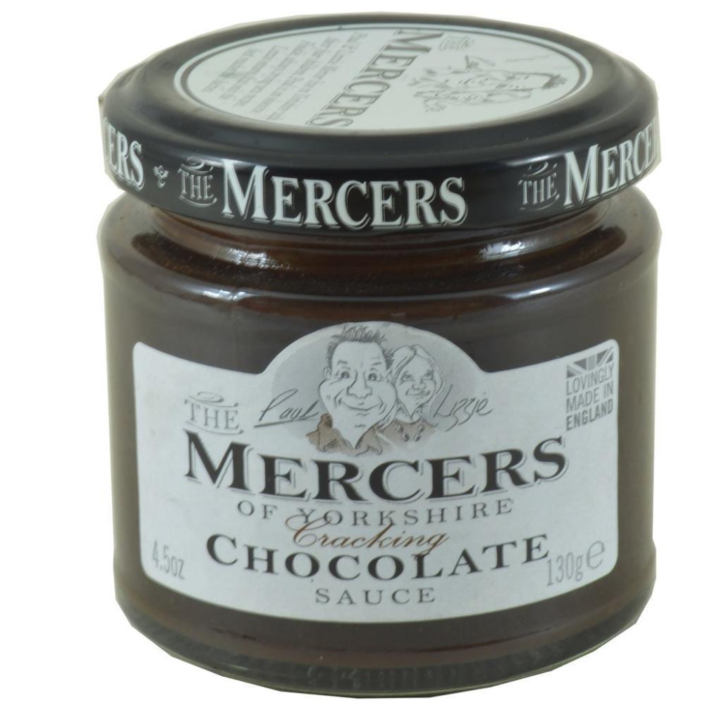 Mercers Chocolate Sauce 130g