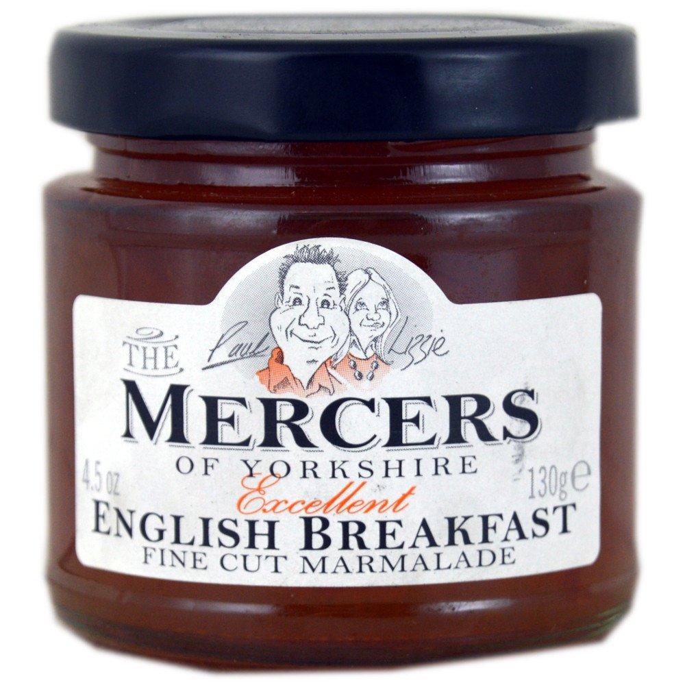Mercers English Breakfast Marmalade 130g