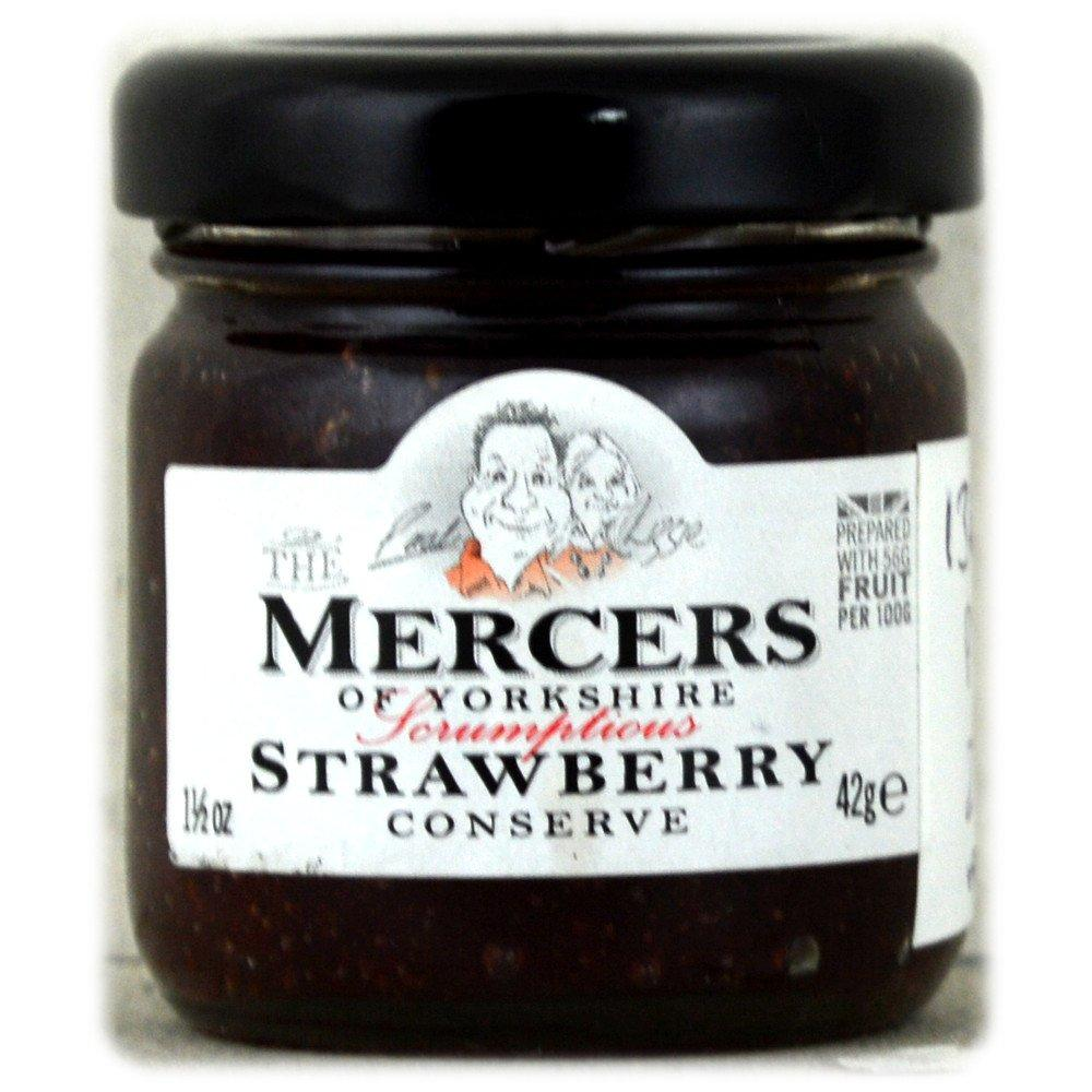 Mercers Strawberry Conserve 42g