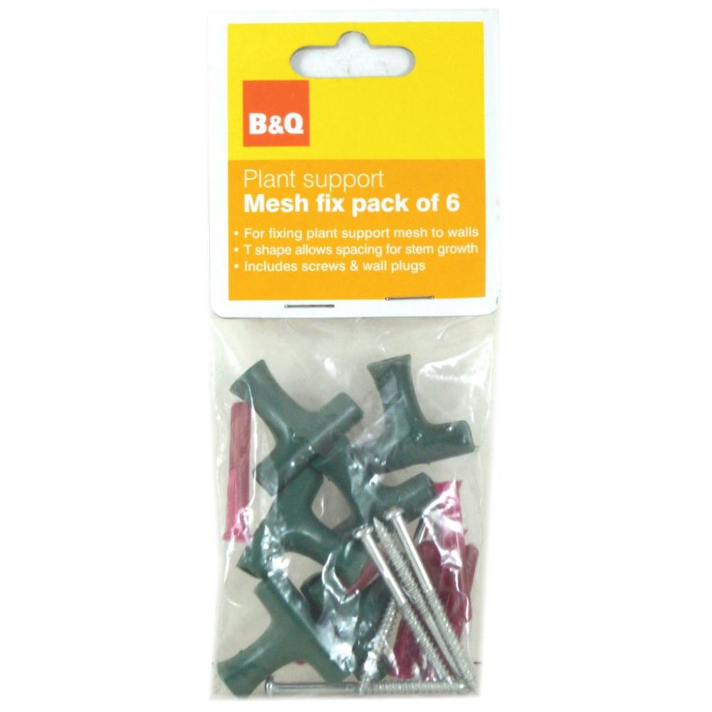 B and Q Mesh Fix - Pack of 6