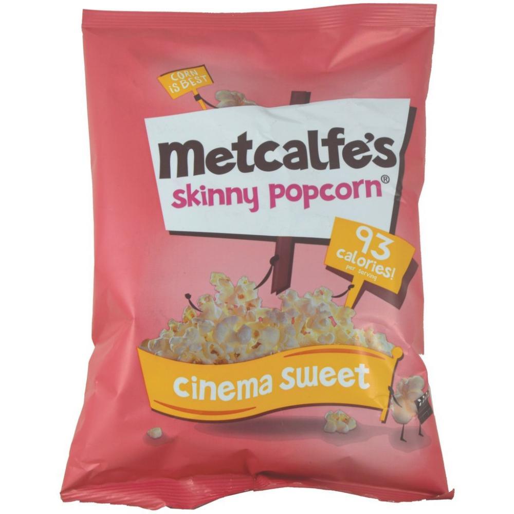 Metcalfes Skinny Popcorn Cinema Sweet 70g