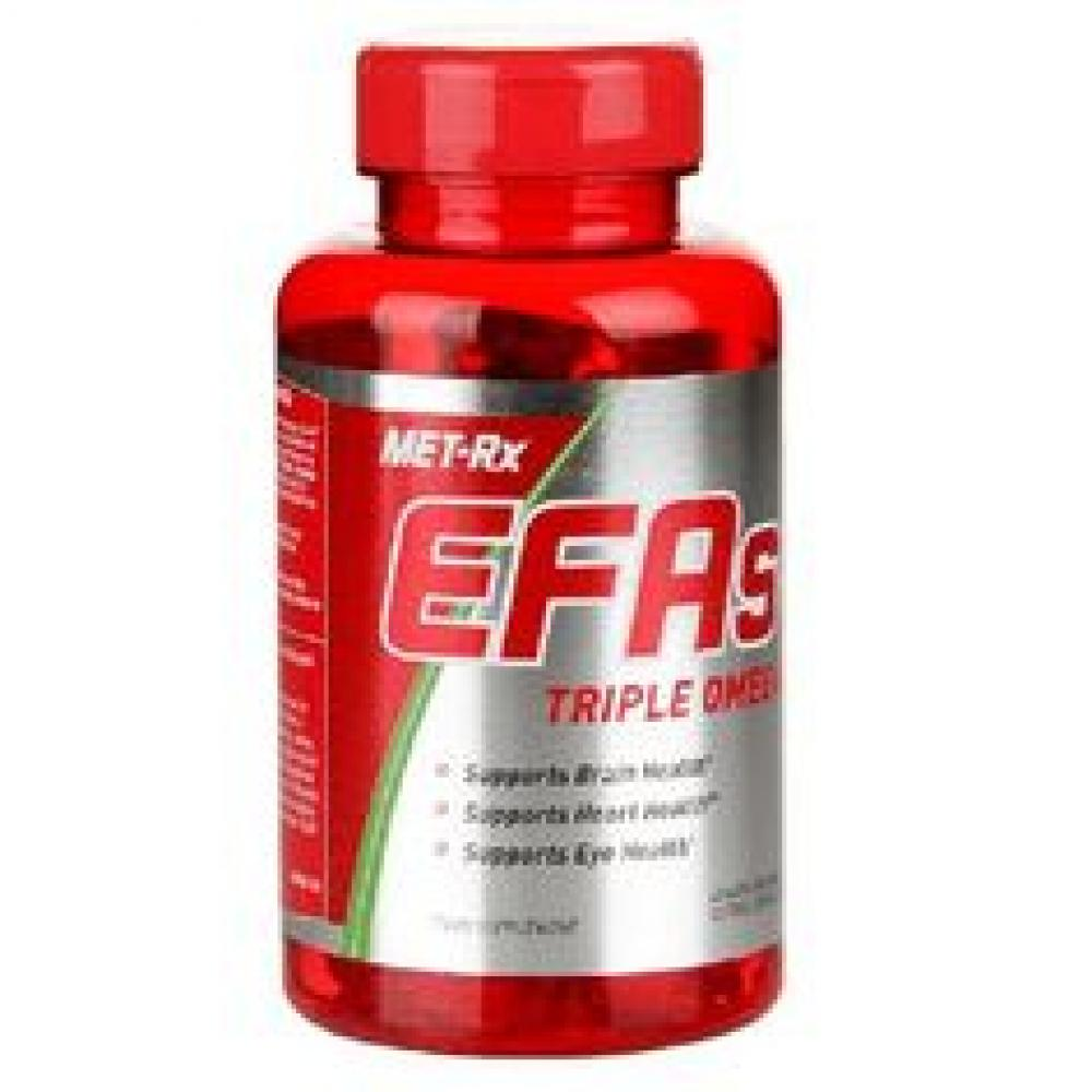 MET-Rx EFAs Essential Fatty Acid Capsules - Tub of 60