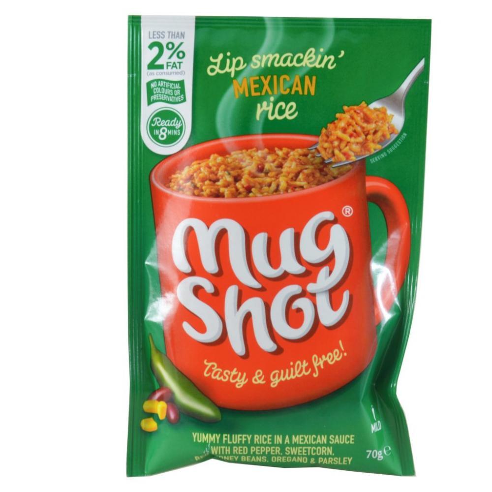 Mug Shot Mexican Rice 70g