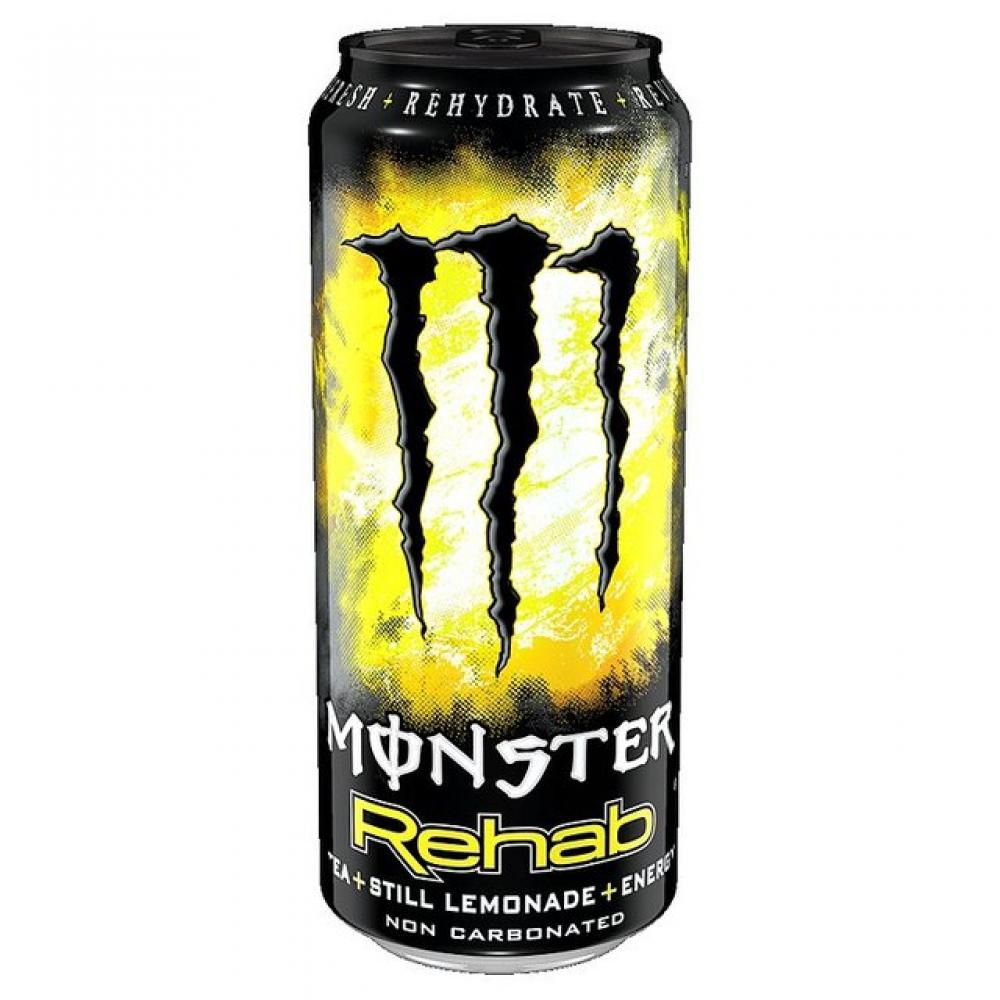 Monster Rehab Energy Drink Can 500ml