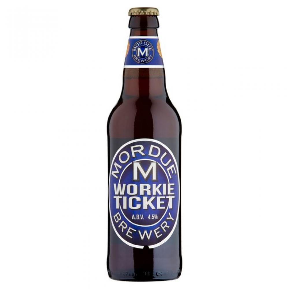 Mordue Brewery Workie Ticket 500ml