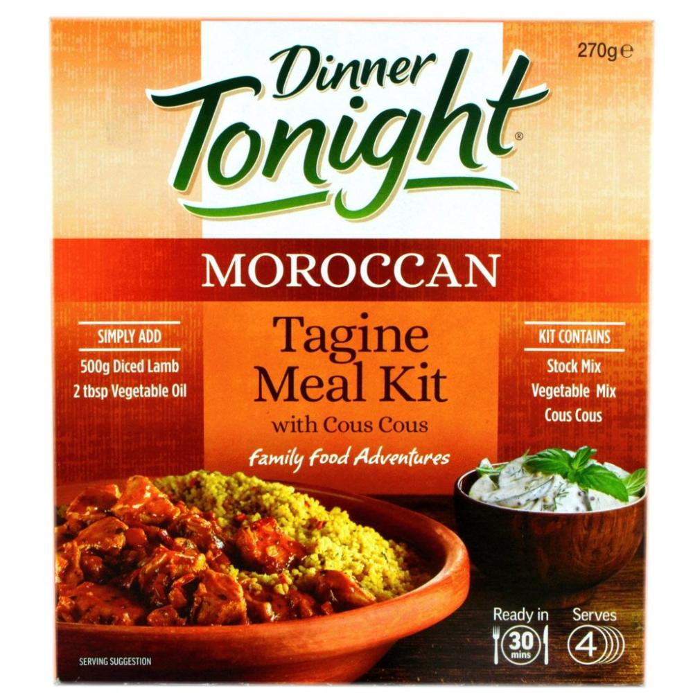 Dinner Tonight Moroccan Tagine Meal Kit 270g