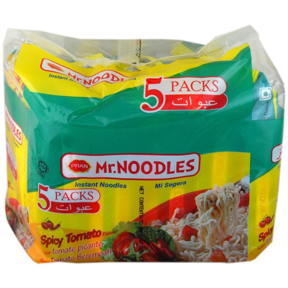 Mr Noodles Spicy Tomato Flavour Instant Noodles 5 pack