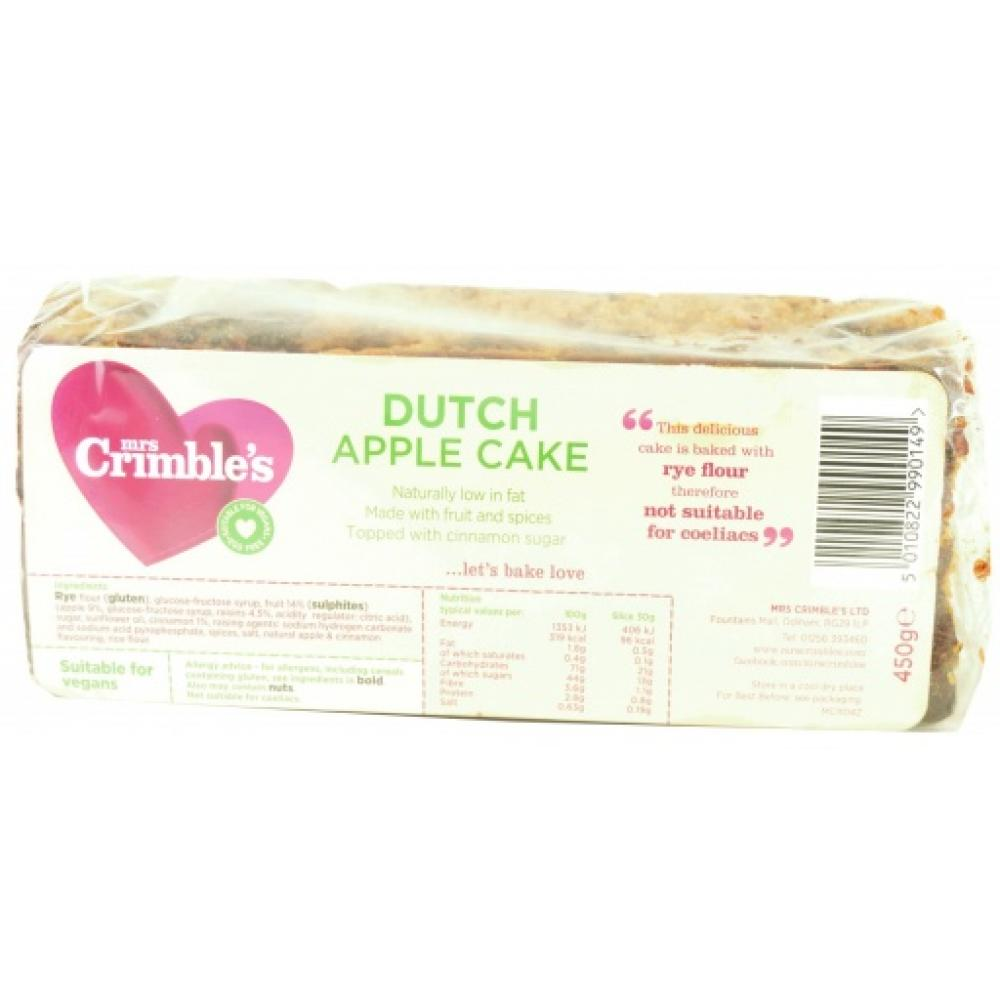 Mrs Crimbles Dutch Apple Cake 450g