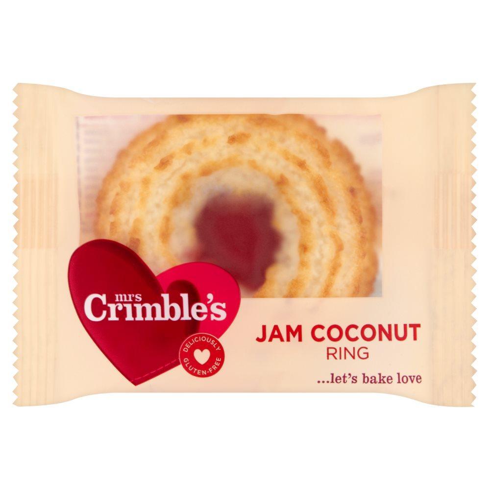 Mrs Crimbles Individual Jam Coconut Rings 40g