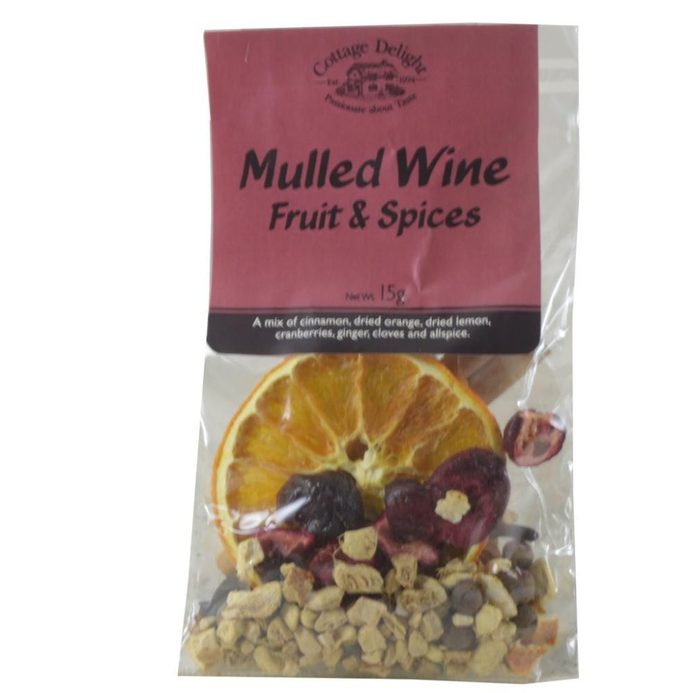 Cottage Delight Mulled Wine Fruit and Spices 15g