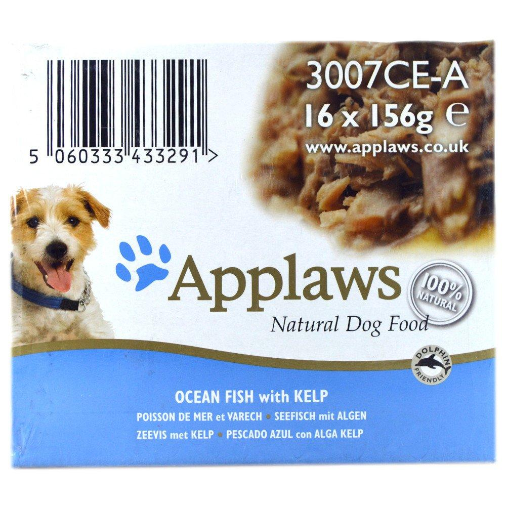 CASE PRICE  Applaws Natural Dog Food Ocean Fish with Kelp 156g x 16