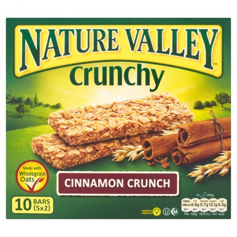 Nature Valley Crunchy Granola Bars Cinnamon Crunch 42g x 5